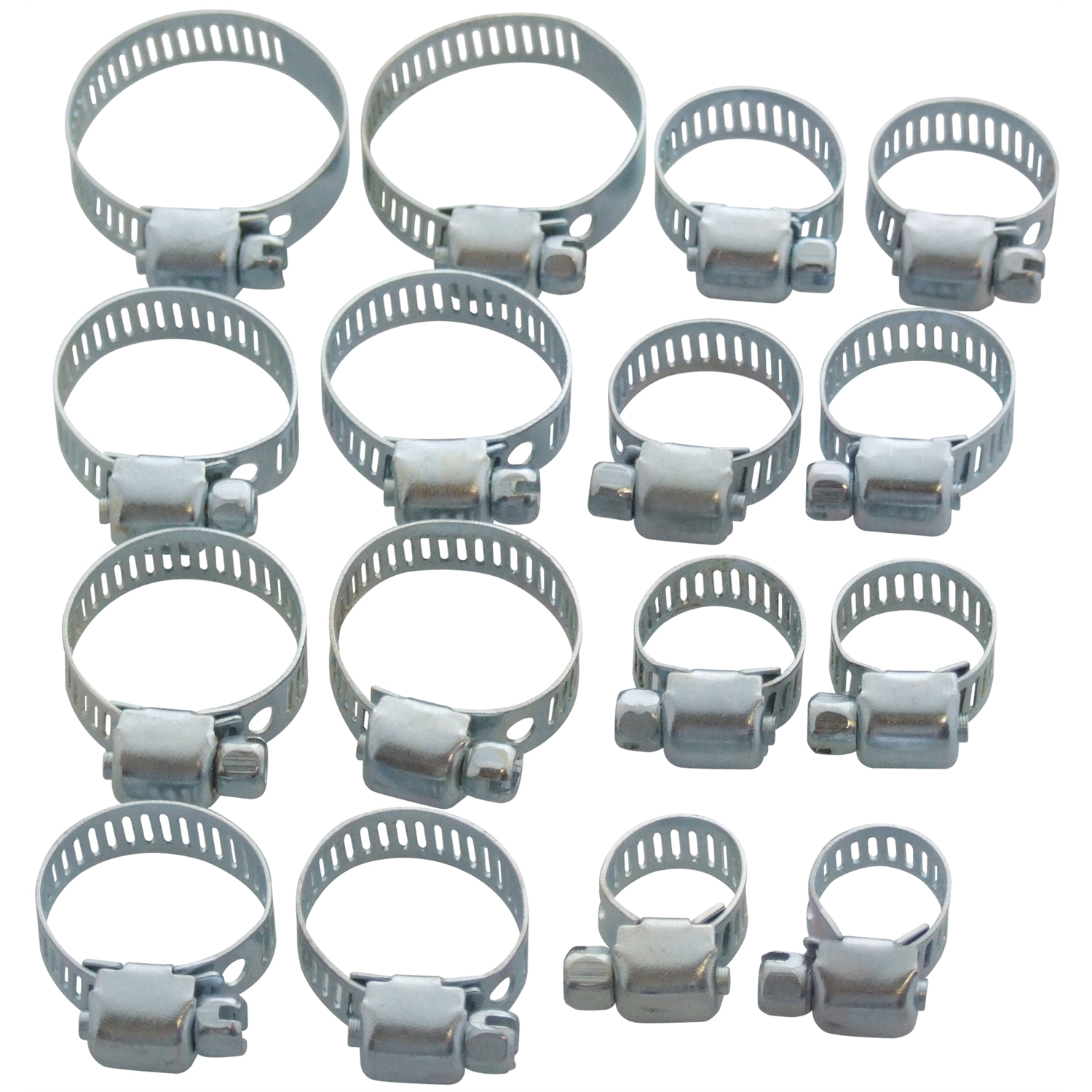 Jubilee clips hose clamps pipe clamp pc set mm